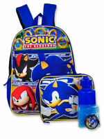 Sonic the Hedgehog 5-Piece Backpack Set