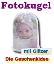 FOTOKUGEL mit Glitzer  +++ Super Geschenkidee +++