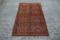 Large Tribal vintage hand knotted prayer rug / nomadic rug / Traditional rug