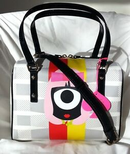 Kate Spade New York x Darcel Small Damien Bowler Bag in Bigsmoke NWT: SRP:$278