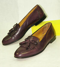 JOHNSTON & MURPHY * ITALY * KILTIE LOAFER IN CORDOVAN * SZ:10.5 M * EXCELLENT