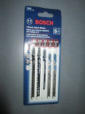 BOSCH T500 JIGSAW BLADE ASSORTMENT  T-SHANK  JIGSAW BLADES PACK OF 5 NEW