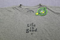 LIFE IS GOOD Men GRAY  Do What You Like Like What You Do CRUSHER SHIRT NWT S M L