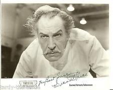 Vincent Price #3 8 x 10 Autograph Reprint  The Fly  Pit and the Pendulum  Batman