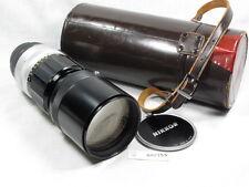 NIKON NIKKOR-H 300mm 4.5 LENS W/CAPS/CASE. NIKON NON-AI MOUNT