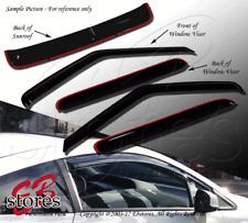JDM Visors 2.0 mm 4pcs Out Channel Rain Guard Mazda Mazda3 3 Hatchback 2010-2012