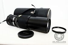 Canon EOS DSLR DIGITAL fit 300mm 900mm VIVITAR TELE lens for KISS REBEL 500D