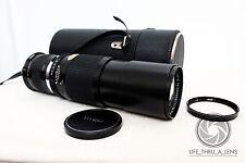 Canon EOS EF DSLR DIGITAL fit 300mm 900mm VIVITAR TELE lens for 500D 550D 600D