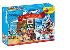 """PLAYMOBIL Advent Calendar """"l' Atelier du Père Noël"""" avec électronique lanterne nº 9264"""