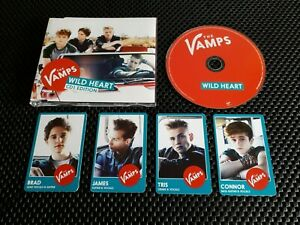 The Vamps - Wild Heart (4 track CD single + photo cards)