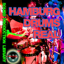 HAMBURG DRUMS Real - Large original Samples/loops production Library on DVD