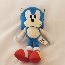 "Sonic 20TH Anniversary Plush 8"" Sega Jazwares Sonic The Hedgehog Plushie"