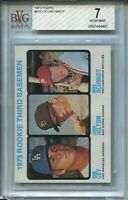 1973 Topps Baseball #615 Mike Schmidt Rookie Card RC Graded BVG Nr Mint 7 '73