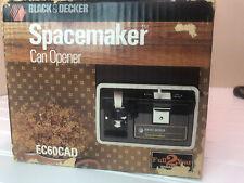 BLACK & DECKER Spacemaker Electric Can Opener EC60CAD NOS