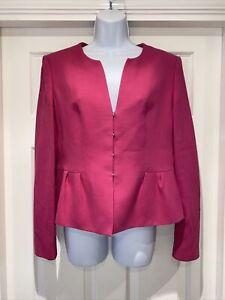 Ladies HUGO BOSS Fully Lined Jacket Size 12
