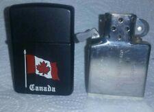 NIAGARA FALLS ONTARIO CANADA, CANADIAN FLAG ZIPPO LIGHTER 87-99