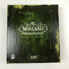 World of Warcraft: The Burning Crusade Collector's Edition (PC, 2007)