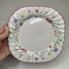 Johnson Brothers SUMMER CHINTZ Square Salad Plates MADE IN ENGLAND  7.5""