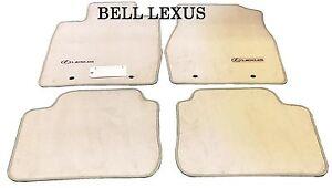 LEXUS OEM FACTORY FLOOR MAT SET 2002-2006 ES330 ES300 IVORY