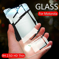 9H+ Tempered Glass Cover Screen Protector Film For Moto G4 G5 G6 G7 G8 E6 Plus