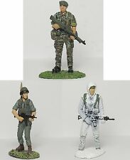 Frontline Deagostini 54mm 1/32 Elite Troops/Police Figures - Pack of 3