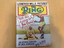 Oct 1948: The Ring boxing magazine Louis Lesnevich Mills Zale Gavilan Jefferies
