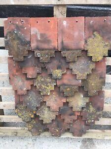 Reclaimed Fancy Clay Hanging Tiles