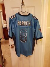 Tennessee titans Marcus mariota  blue# 8 Large  Jersey gorgeous BIG SALE