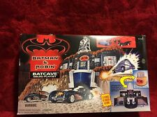 Batman & Robin Batcave Micro Playset Kenner 1997 Sealed