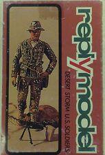 "Figurino in 54 mm ""DESERT STORM U.S. SOLDIER"" -  REPLY MODEL"