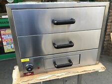 COMMERCIAL  CATERING FOOD WARMER HOT DRAWER CABINET PERI PERI CHICKEN UNIT