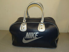 Vintage Blue with Silver Nike Duffel Gym Bag Duffle Bag Tote FREE SHIPPING!