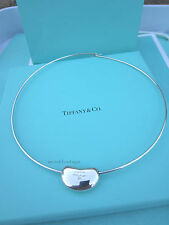 AUTHENTIC Tiffany & Co. LARGE Bean Slide Choker RARE! (#150)