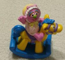 Baby Natasha 1999 Sesame Street PVC Tyco Toys inc Henson RARE rocking horse