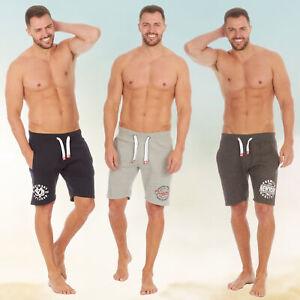* Mens Shorts Drawstring Elasticated Wasistband Homewear Pockets American Design