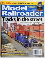 Model Railroader Magazine October 2017 trains railroad RR urban tracks DCC power