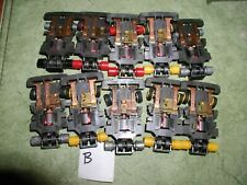 SLOTLESS TCR COMMAND CONTROL TYCO SLOT CAR 10 CHASSIS PARTS LOT CLEARANCE SALE