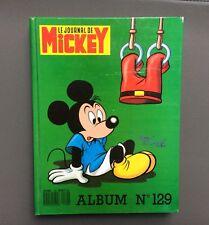 Reliure Mickey n°129. Le journal de Mickey. Walt Disney