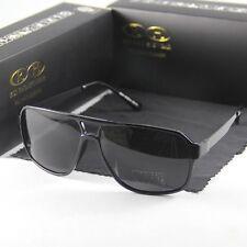 Brand  Polarized Sunglasses Men Women Sun Glasses Eyewear Black Frame Grey Lens