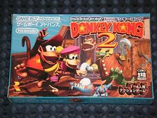 NEW GBA Super Donkey Kong Country 2 Dixie Diddy Game Boy Advance Nintendo JAPAN