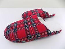Family PJ Women's Brinkley CHECKS Plaid WARM Slippers SIZE 10-11 BIG SALE Y02