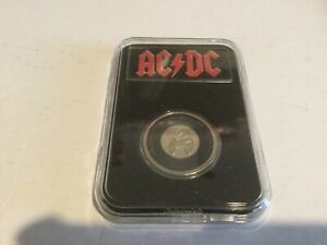 AC/DC Six Coins in Slabs (20 cent UNCIRCULATED Coins)