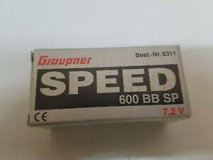 Graupner  6311 SPEED 600 BB SP 7,2V