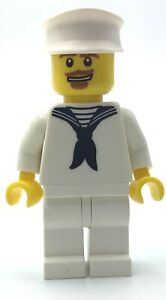 LEGO SAILOR MINIFIGURE COLLECTIBLE SERIES CMF FIG BOAT DECKHAND FIG
