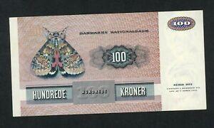 DENMARK  100 KRONER  1975   PICK # 51b  VF.
