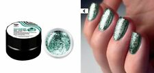 Green Flakes Shine Gel Polish Chrome Lovely like Luxio for Nail Art №8