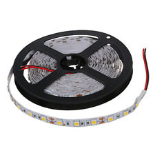 5M 300 Warm White LED 5050 SMD Flexible Light Lamp Strip 12V DC Home Club L6