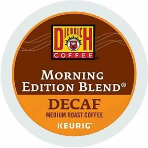 Diedrich Morning Edition Blend Decaf Keurig K-Cups 24 Quantity ~Free Shipping~