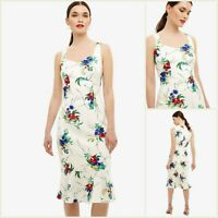 Phase Eight Dress Size 12 | Ivory Bethania Floral Style | BNWT | £130 RRP | New!