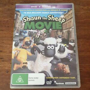 Shaun the Sheep Movie DVD R4 Like New! FREE POST